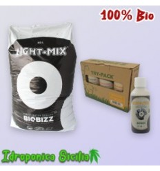 Kit Fertilizzanti Biobizz - TERRA INDOOR - 100% Bio - Basic