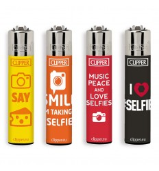CLIPPER LARGE LOVE SELFIES SENTENCES