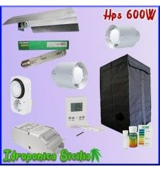 KIT Basic Indoor - Terra 600w Agro + Grow Box